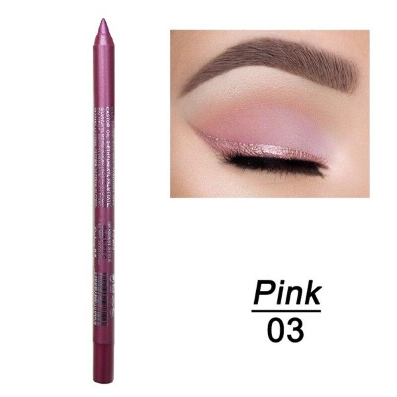 1 шт. стойкий карандаш для глаз водостойкий 14 цветов карандаш для глаз карандаш для век косметические инструменты для макияжа оптом TSLM2 - Цвет: 03
