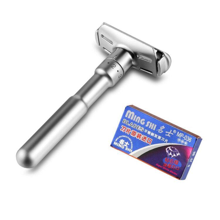 dobro ajustável da lâmina da segurança