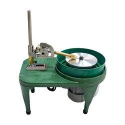 Machine de facettage de pierres précieuses Machine d'angle de pierre de Jade Machine de polissage de bijoux rectifieuse plate