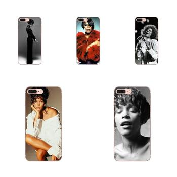 Sexy Singer Whitney Houston For Samsung Galaxy J1 J3 J4 J5 J6 J7 A10 A20 A20E A3 A40 A5 A50 A7 2016 2017 2018 Soft Case Cover image