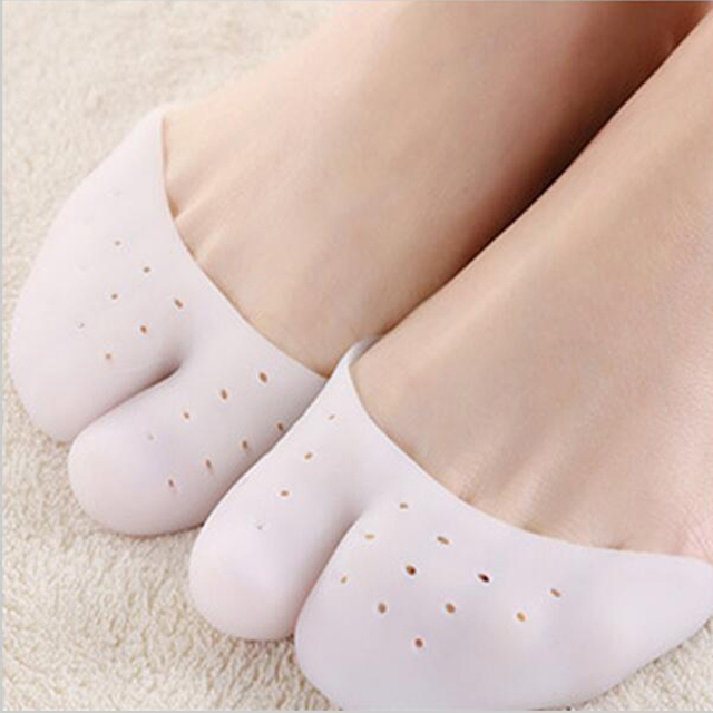 New Silicone toe cover Silica gel foot care case Ballet dance feet Protector Beauty health Accessories MR029 1