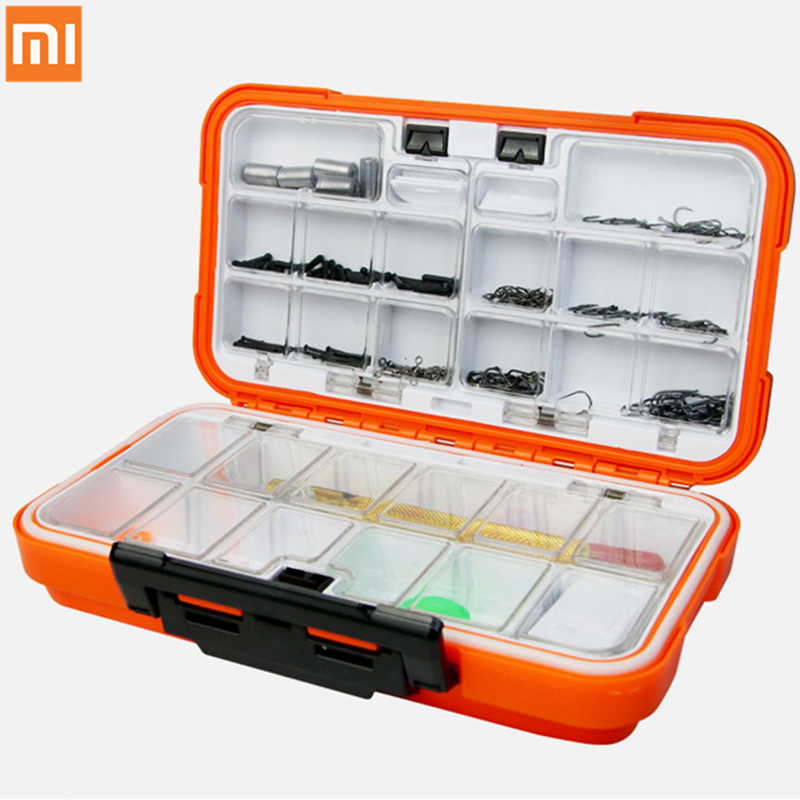 Xiaomi Mijia YEUX Multi-function Hook Accessories Set Fishing Tackle Fish Hook Waterproof Fishing Box For Fishing