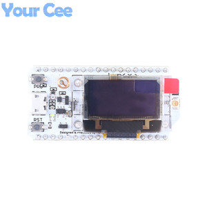 Image 2 - 868MHz/915MHz LoRa ESP32 Oled Wifi SX1276 Module IOT with Antenna For Arduino Electronic diy kit pcb New Version 2018