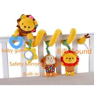 Image 2 - Chocalho de brinquedo infantil, espiral macio para berço, cama, carrinho, brinquedo para bebê, recém nascidos, assento de carro, pendurado, brinquedo educacional para presente