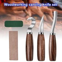 5 unids/set De acero inoxidable madera De madera cuchara De Kit De Herramientas agujeros Herramientas De Mano Herramientas Manuais
