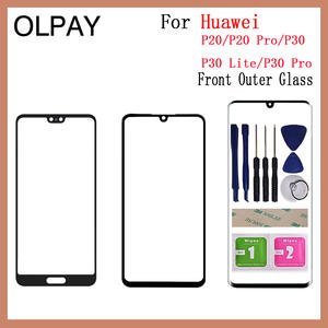 Glass Lcd-Display-Panel Touch-Screen Spare-Parts Front Huawei P30-Lite Lens Replacement