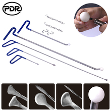 PDR Tools Push Rods Hooks Crowbar Pry Bar Tool Paintless Den