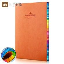 Блокнот с радужным дневником 70 г даолинь бумажная кожаная поверхность