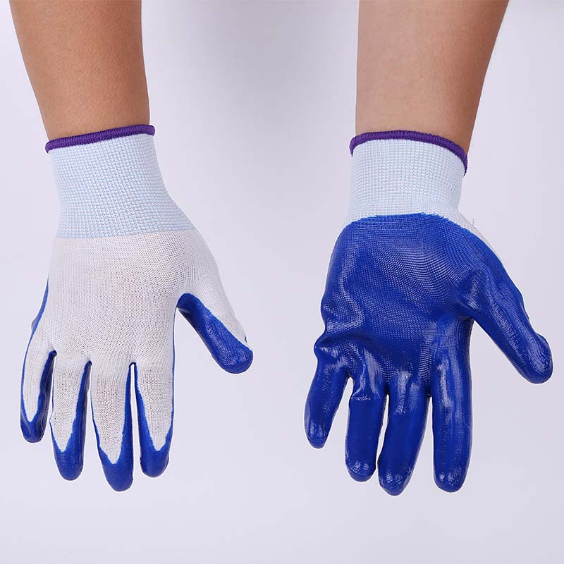 PVC Protective Protective Gloves Anti-acid And Alkali Dipped Gloves