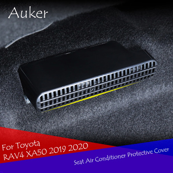 For Toyota RAV4 XA50 2019 2020 Car under back seat AC heat floor air conditioner outlet Grid cover Air outlet mask under 1