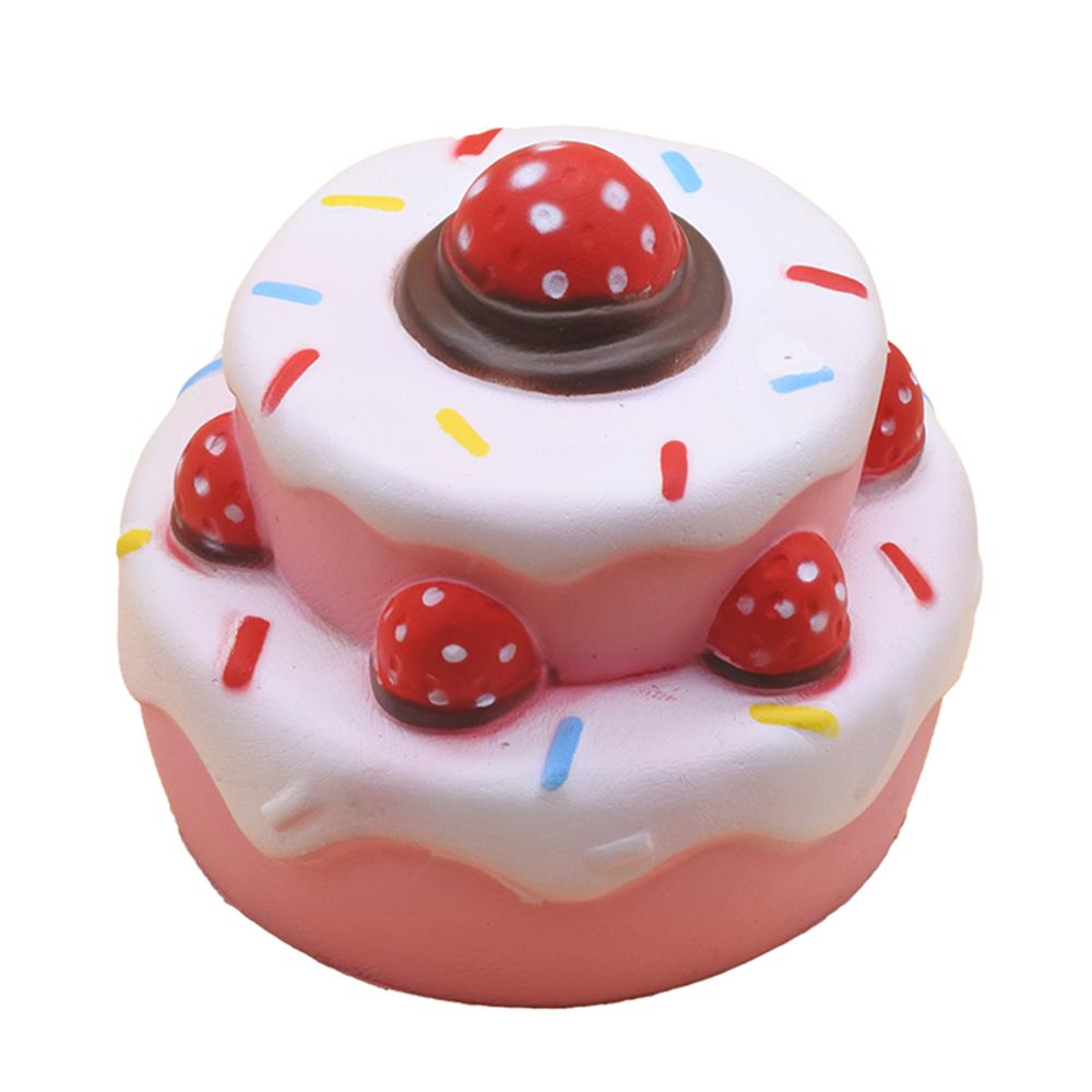 Squishy Toys Slow Rising Unicorn Deer Cake Squishi Squeeze Toy Squishes No Sound Decoration Kindergarte