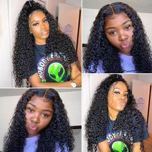 RXY Deep Wave Wig Lace Front Human Hair Wigs