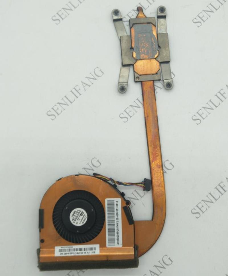 For Original Laptop/notebook Integrated CPU Cooling Radiator Heatsink&Fan For Lenovo Thinkpad T440S 04X0445 04X1850 AT0SB004PU0