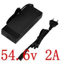 Free Shipping 48V li-ion battery 13S 48V 2A Charger 54.6V 2A lithium Battery Charger 54.6V 2A charger