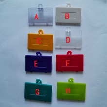 FZQWEG 10 adet Gameboy Pocket için pil kapağı pil kapı değiştirme GBP pil kapağı