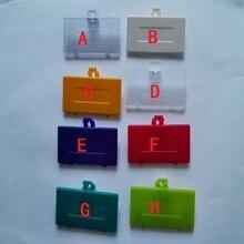 FZQWEG 10 pièces pour Gameboy poche couvercle de batterie batterie porte remplacement pour GBP couvercle de batterie