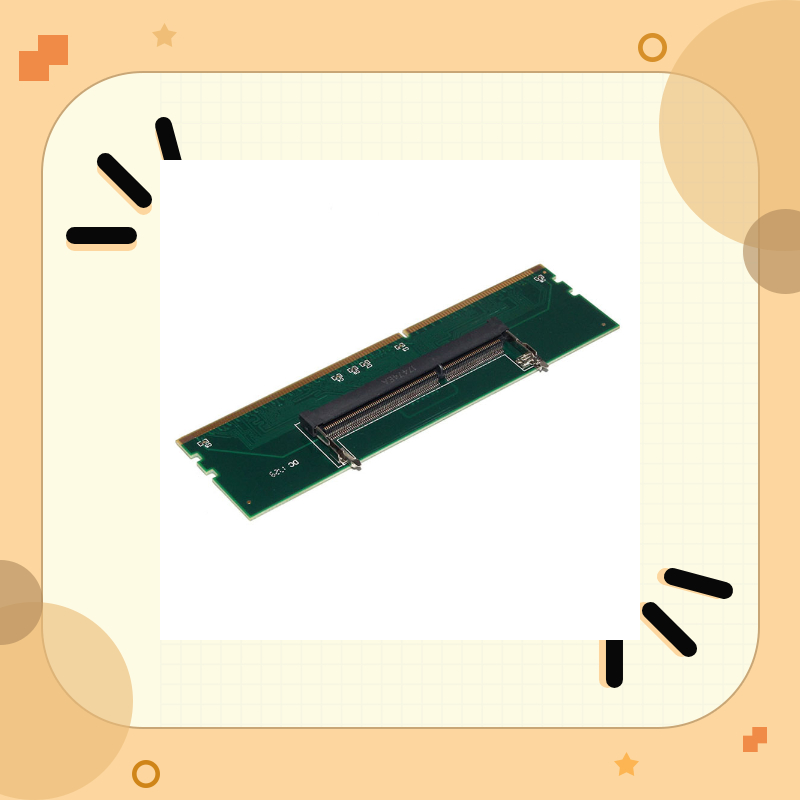 DDR3 Laptop SO-DIMM To Desktop DIMM Memory RAM Connector Adapter 240 To 204P Desktop Computer Component Accessory