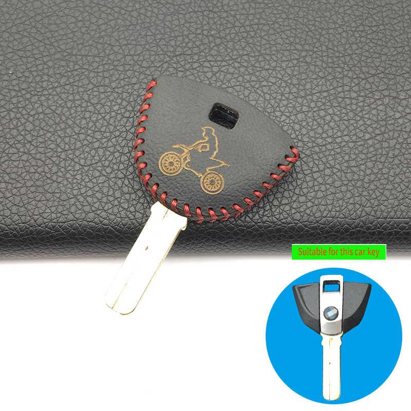 Pour F800 BMW K1300GT R1200RT K1200R K1300R étui à clés en cuir véritable pour moto accessoires de protection