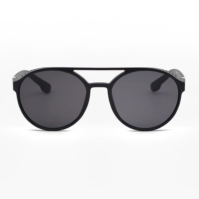 RBRARE-Gafas De Sol clásicas Steampunk para hombre, lentes De Sol De diseñador De marca De lujo para hombre, anteojos De Sol Vintage para conducir al aire libre para Mujer 4