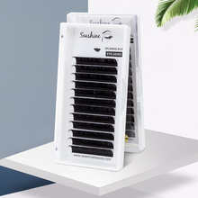 Seashine Faux Mink Individual Lash Extension Supplies Russian Volume Classic Single Eyelashes Natural