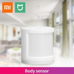 Xiaomi MIJIA Human Body Sensor Magnetic Smart Home Motion Practical Intelligent Device Connection Mijia Gateway Mi home APP