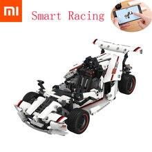 Xiaomi – blocs de construction MITU, voiture de course sur route, jouet pour enfants électrique, Bluetooth 2020, télécommande intelligente avec application, 5.0 pièces, 900