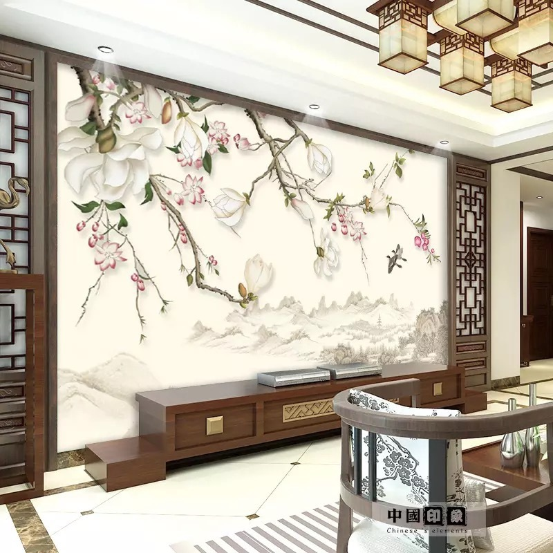 3D TV Backdrop Wallpaper Living Room Bedroom 8D Home And Film And Television Wall Cloth 5D Minimalist Modern Wallpaper Decoratio