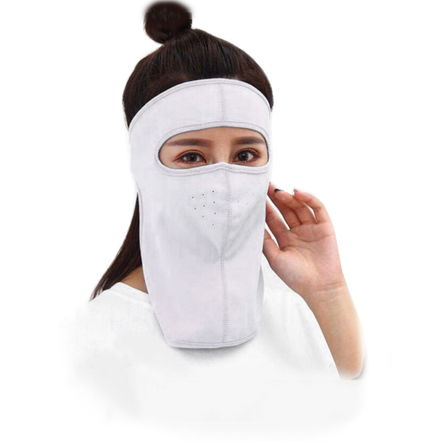Protective mask Summer Unisex Outdoor Cycling Windproof UV Protection Neck Cover Full Face Mask Anti flu Anti Virus Mask 5