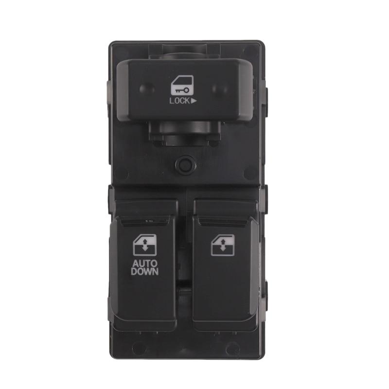 1 Pcs Black Car Power Window Switch Left Front Automobile Electric Door Switch, For Hyundai Kia 93571-4H110