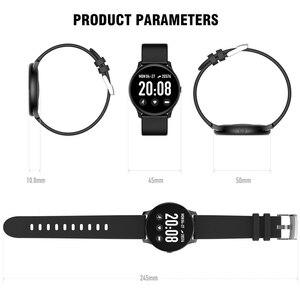 Image 5 - KOSPET ماجيك النساء ساعة ذكية الرجال رصد معدل ضربات القلب الدم الأكسجين اللياقة البدنية المقتفي KW19 Smartwatch للهاتف IOS أندرويد شاومي