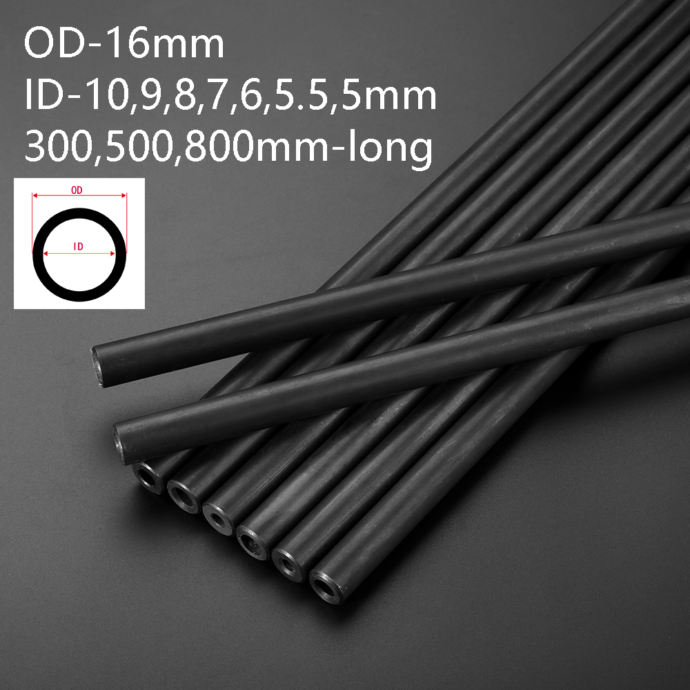 OD16mm Mild Steel Precision Round Tube / Pipe / Many Sizes And Lengths Home DIY Tool Parts