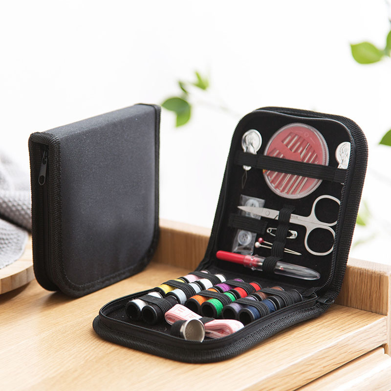 10pcs/set Portable Travel Sewing Box Kit Sewing Thread Stitches Knitting Needles Tools Cloth Buttons Craft Scissor Mom Gifts|Sewing Tools & Accessory|   - AliExpress