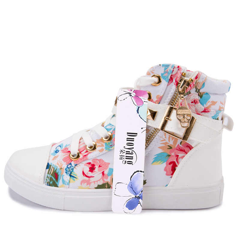 Парусиновая обувь; коллекция 2019 года; женская обувь; модная обувь на танкетке с высоким берцем на молнии; однотонные белые туфли; женские кроссовки; tenis feminino