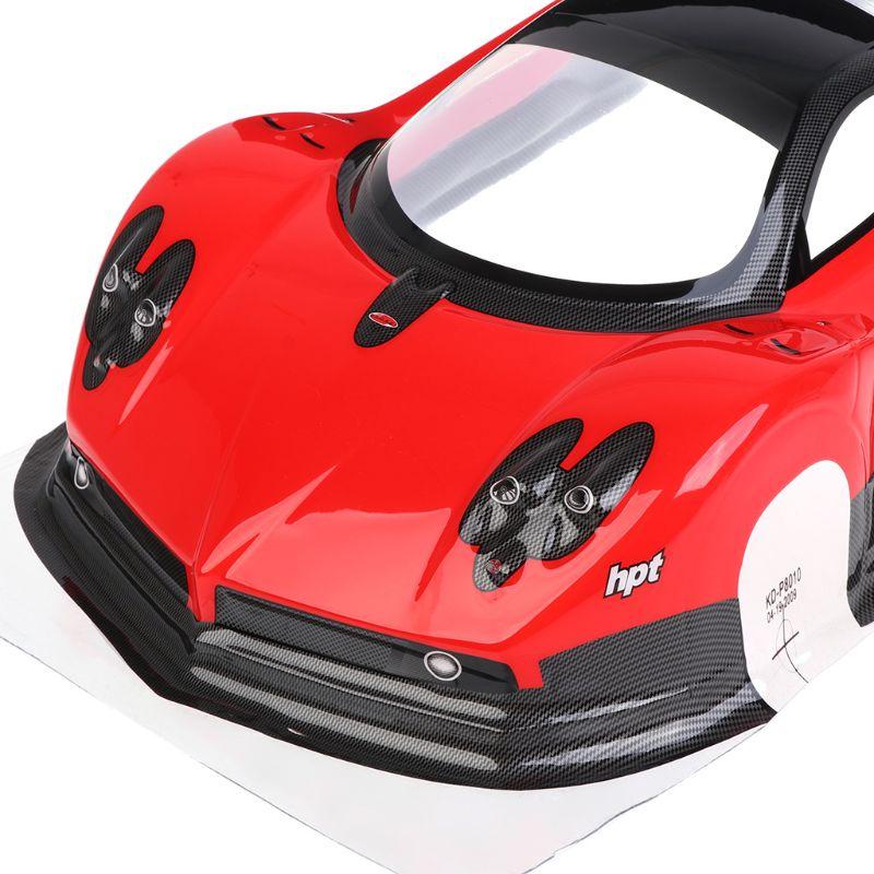 Coque de voiture RC à échelle 1/10, pour tout-terrain, 1:10, coque dérive de 200mm pour HSP 94123 94122, pièces de rechange, nouveau
