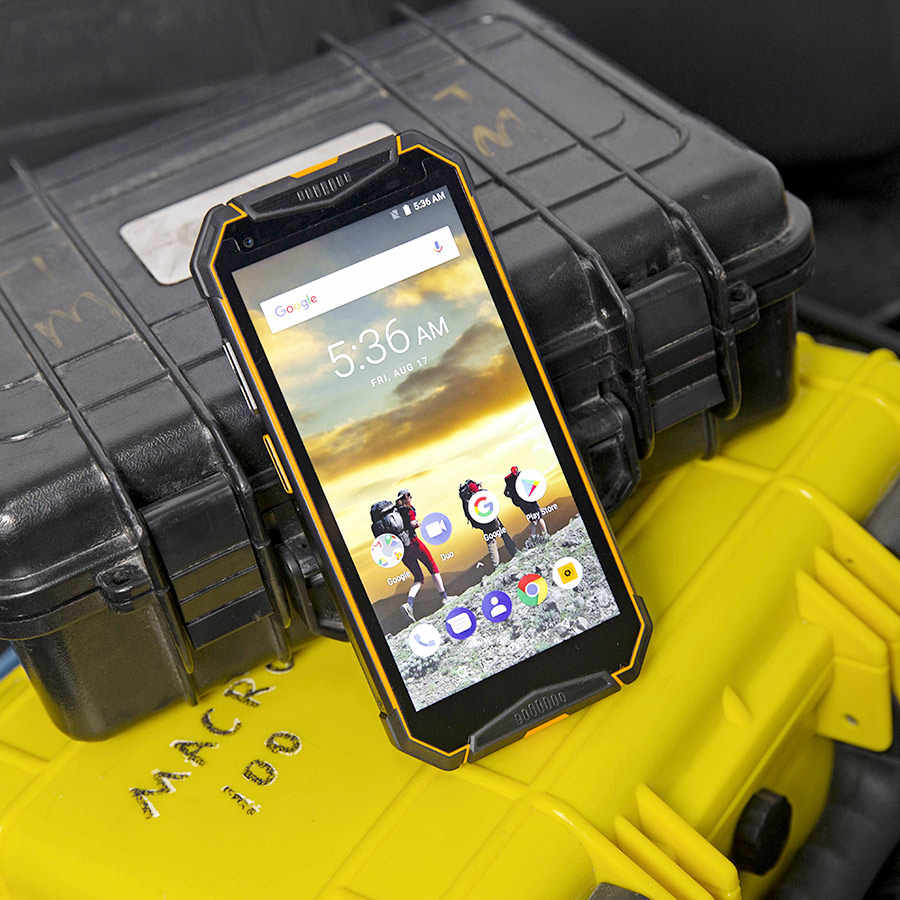 "Ulefone Armatura 3WT 5.7 ""FHD + Android 9.0 Helio P70 Octa Core 6GB 64GB Smartphone Walkie-talkie 10300mAh 4G OTG NFC Del Telefono Mobile"