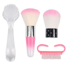 Nail Cleaning Brush Verwijder Dust Poeder Cleaner voor Acryl UV Gel Nail Art Tool(China)