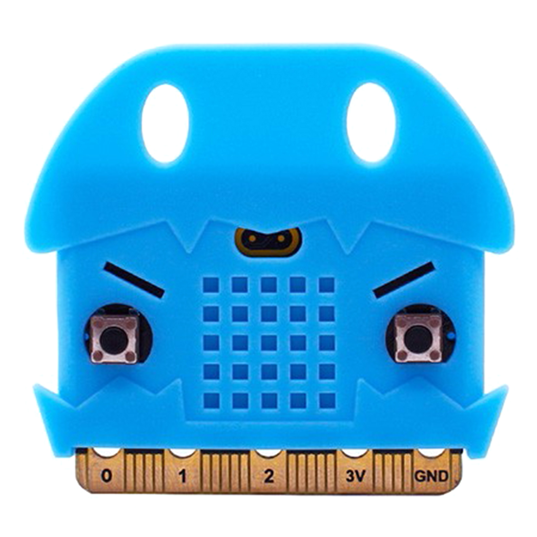 Protective Shell Silicone Protective Sleeve For Micro: Bit Development Board Educational Toy - Light Blue/Dark Red/Light Orange