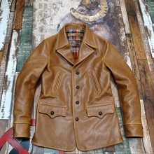 Jacket Wax-Cowhide Coat.quality Winter New Clothes.classic-Style Hunting Men