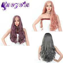ZYR Wigs Body Wave 13X3 Lace Front Wig Middle Parti