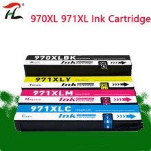 970XL Compatibel Voor HP970 Xl 971XL Inkt Cartridge Hp Officejet X451dn X451dw X476dn X476dw X551dw X576dw X451 X476 X551 Inkjet