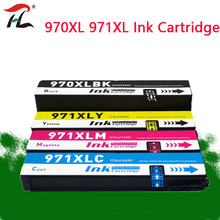 970XL תואם עבור HP970 XL 971XL דיו מחסנית HP OfficeJet X451dn X451dw X476dn X476dw X551dw X576dw X451 X476 X551 הזרקת דיו