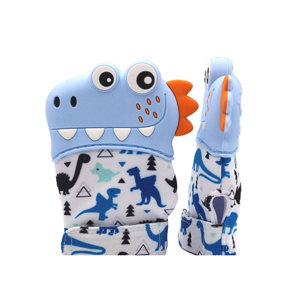 Creative New Baby Silicone Molar Gloves Baby Anti-hand Gloves Baby Teething Mitten, Mitten Teether Infant Toys