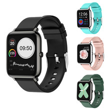 Умные часы мужские спортивные водонепроницаемые фитнес-трекер P22 пульсометр тонометр монитор сна Bluetooth Смарт-браслет для IOS