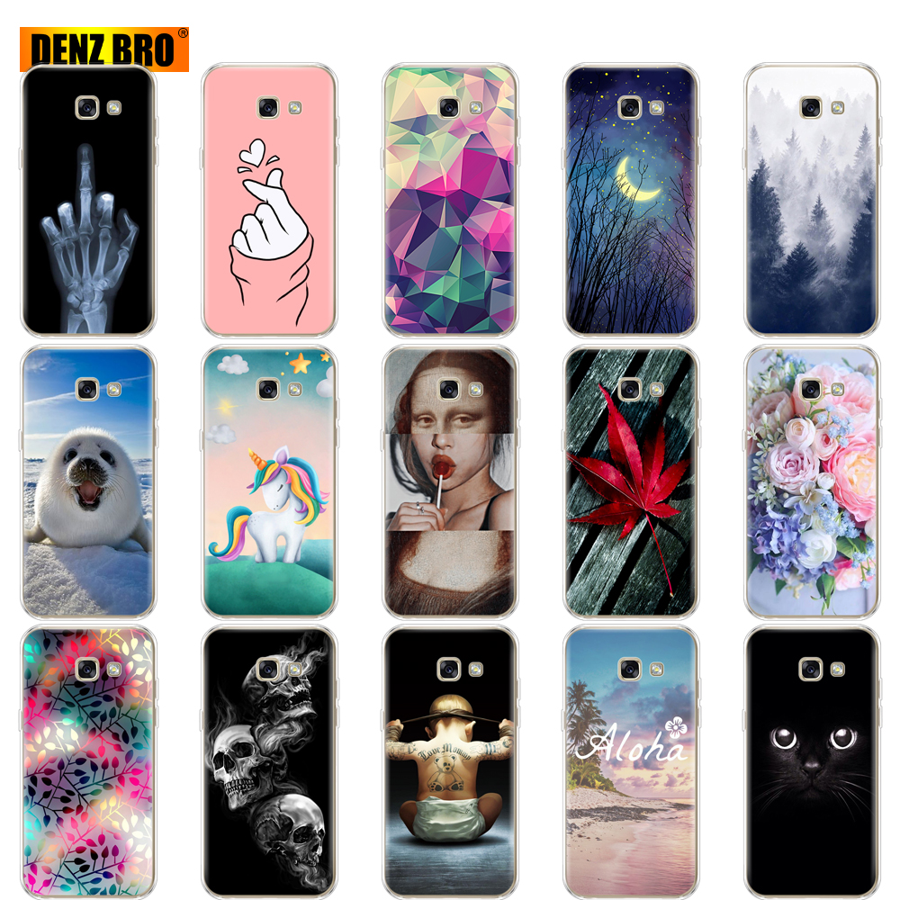 For <font><b>Samsung</b></font> <font><b>Galaxy</b></font> <font><b>A3</b></font> <font><b>2017</b></font> <font><b>Case</b></font> Cover A320 A320F Silicone Soft TPU Painting Back FOR <font><b>Samsung</b></font> <font><b>A3</b></font> <font><b>2017</b></font> <font><b>phone</b></font> <font><b>Case</b></font> Protective Coque image