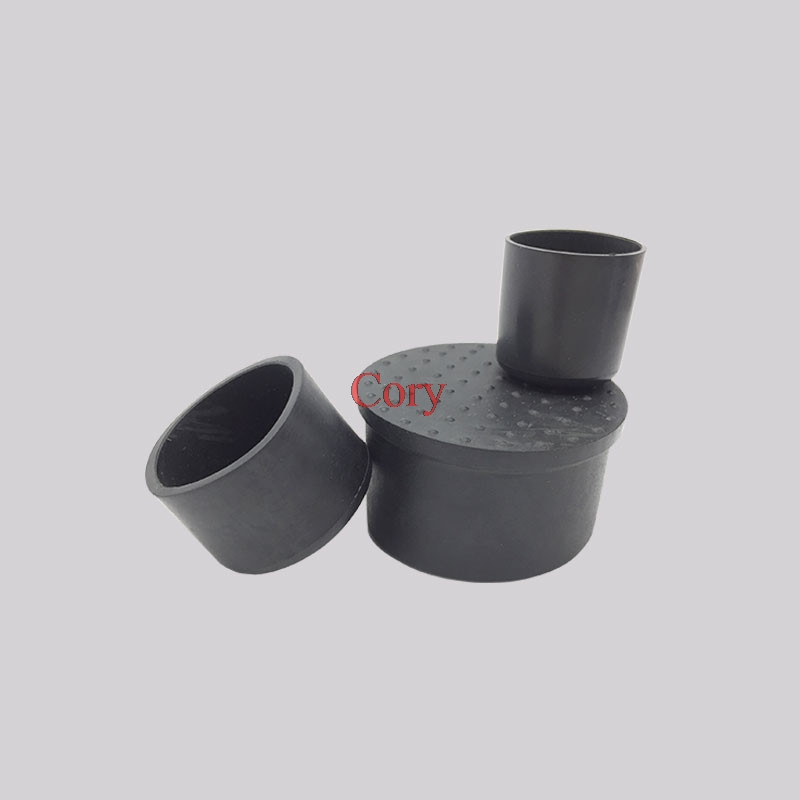 8PCS Tube Insert Chair Leg Cap Black Rubber Tubing Plug Protect Floor Diameter 12/14/16/19/22/25/30/32/35/38/40/42/48/50mm