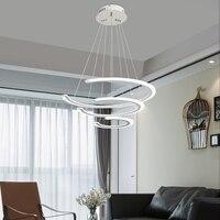 Скандинавский подвесной светильник с регулируемой яркостью 2,4 г RF пульт дистанционного управления люстра освещение для гостиной лампа для
