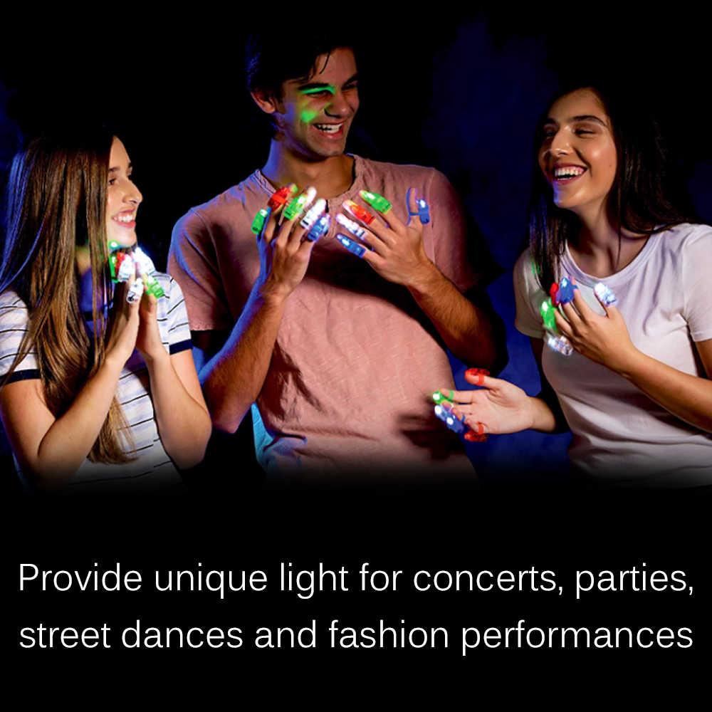 1pcs di Barretta Della Novità Luce Lucido Bastone Al Neon Anello Giocattolo Luminoso Brillante Anello Del Partito di Alimentazione