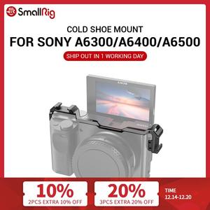 Image 1 - SmallRig Cold Shoe Relocation Mount for Sony A6100 / A6300 / A6400 / A6500 w/ 2 cold Shoe Mount For Microphone  DIY Options 2334