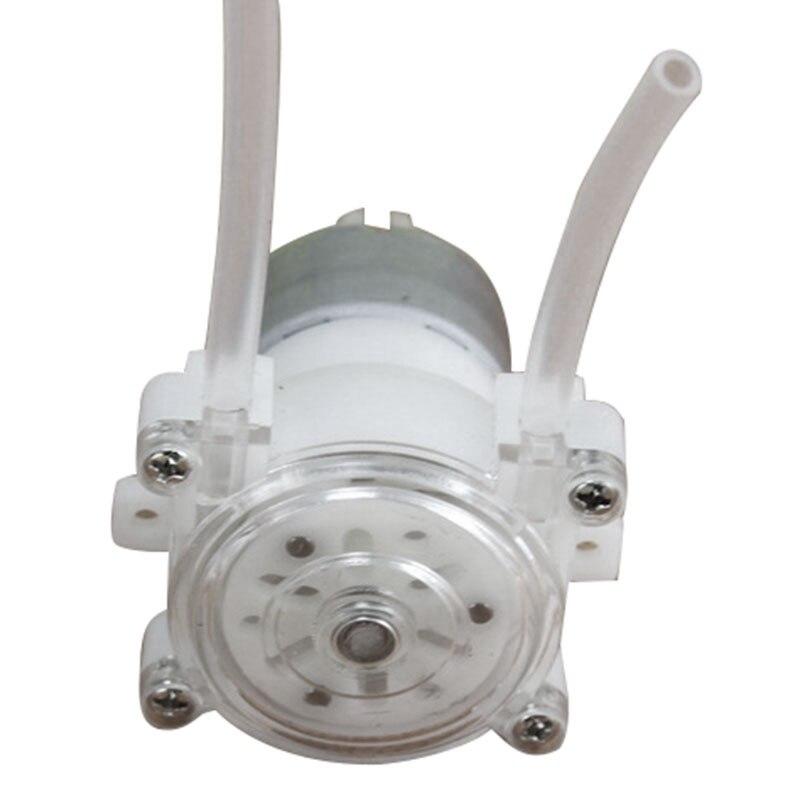 1Pcs DC 6V Metering Pump For Aquarium Peristaltic Pump Food Pump DC Peristaltic Pump Simple Peristaltic Pump