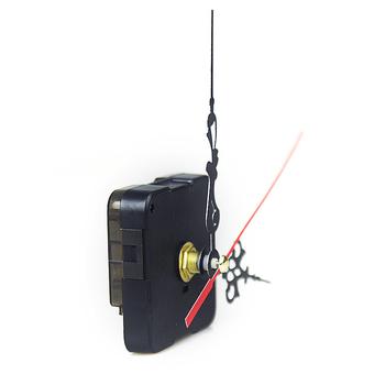 Wiszące DIY zegarek kwarcowy cichy ścienny akcesoria zegara mechanizm kwarcowy naprawa ruch mechanizm zegara części igły 1 zestaw nowy tanie i dobre opinie luxfacigoo CN (pochodzenie) Clock Parts 5 5*5 5*1 5cm 12 mm Thread approximately 6 mm dropshipping wholesale